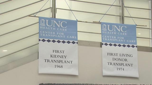 UNC celebrates 5,000 organ transplants, 50 years of care