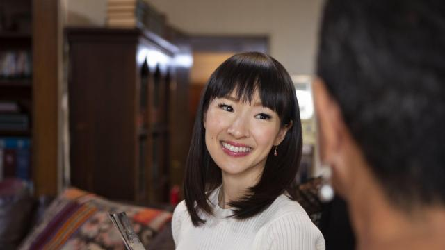 Marie Kondo was likely just out of diapers and making a mess when Regina Leeds got into this work. (Denise Crew/Netflix)