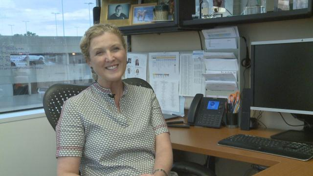 Dr. Lisa Carey, chief of hematology/oncology at UNC Lineberger Comprehensive Cancer Center