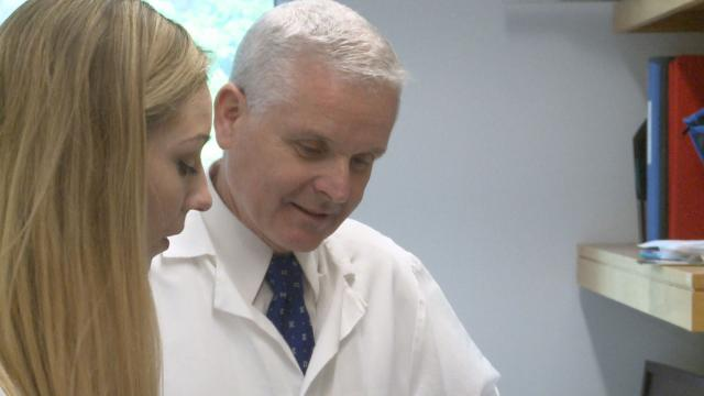 Duke's Donald McDonnell, Ph.D., chairman of Pharmacology and Cancer Biology at Duke University Medical Center