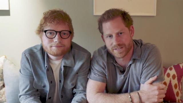 Prince Harry and Ed Sheeran teamed up in a video to raise awareness about World Mental Health Day.