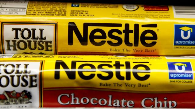 Nestlé is recalling some cookie dough products because of possible rubber contamination.