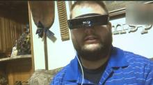 IMAGES: Anonymous donor surprises man with the gift of sight, an eSight device