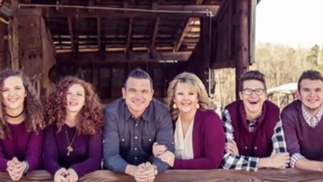 Pastor Grant Staubs and family
