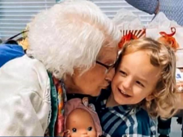 Florence Snelling survived COVID-19 and now waits to hug generations of grandchildren again.