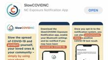 IMAGE: NC encourages people to download, use COVID-19 tracking app
