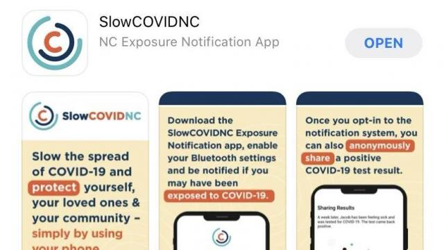 NCDHHS unveils COVID-19 exposure tracking app