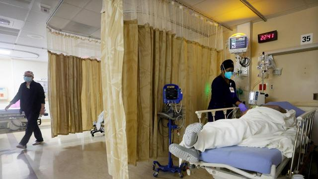 Covid-19 hospitalizations drop, but January has been the deadliest month of the pandemic. Here's what to expect next