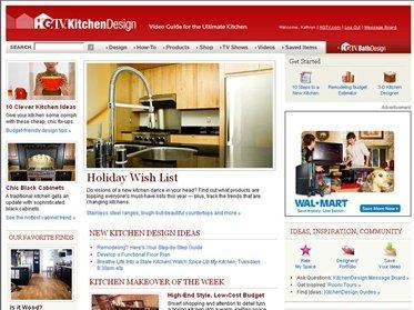 This undated image provided by Scripps Networks shows the HGTV Kitchen Design: Video Guide for the Ultimate Kitchen web site. (AP Photo/Scripps Networks)