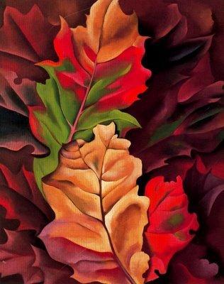 autumn leaves by georgia o keefe wral com