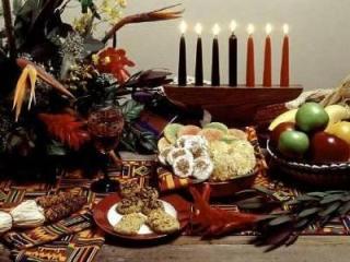 Joyous Kwanzaa. Photo from www.dianasdesserts.com.