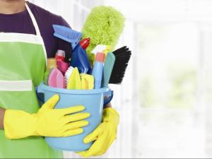 Use the right supplies and tools for spring cleaning.