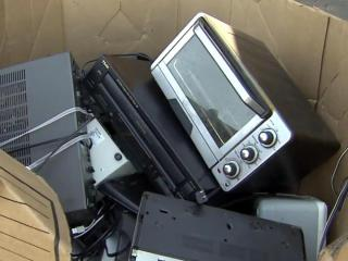 Recycled electronics, electronics recycling