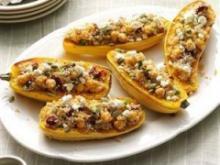 Recipe: Quinoa-stuffed Squash Boats