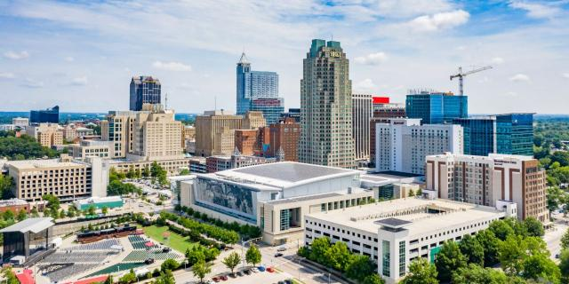 Downtown Raleigh. (Photo courtesy of the City of Raleigh)