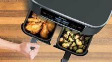 IMAGE: Ninja Released A 2-basket Air Fryer So You Can Cook 2 Dishes At Once