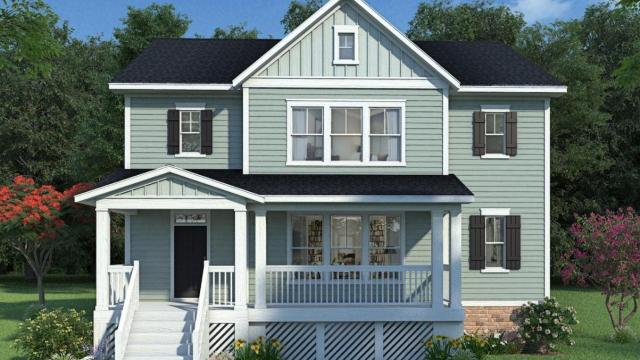 "David Weekley Homes presents ""The Mistybrook"" on 5240 Crescent Square Street for $549,115"