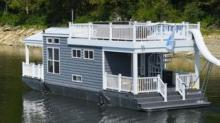 IMAGE: Boats That Are Like 'tiny Houses' On The Water
