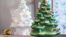 IMAGE: These Ceramic Christmas Trees Are Making A Comeback