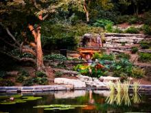 Duke Gardens hosts party for supporters