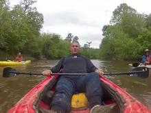 Clayton firefighters kayak 200 miles for fallen heroes