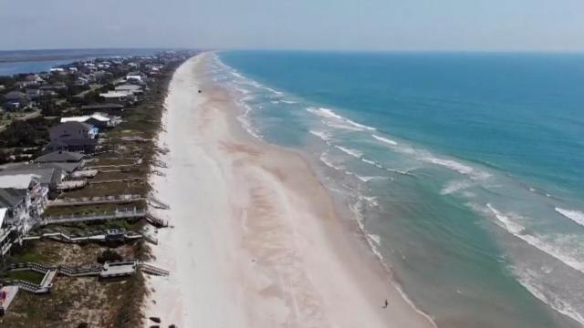 NC coastline