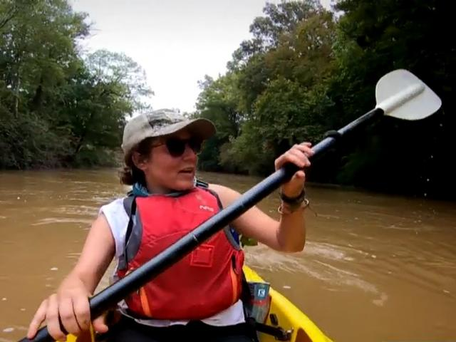 Jillian Howell is the Tar-Pamlico riverkeeper.