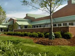The Randall B. Terry, Jr. Companion Animal Veterinary Medical Center at N.C. State University. (Image courtesy of N.C. State)