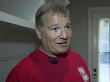 Mark Davis, owner of J.M. Custom Homes Inc. in Raleigh