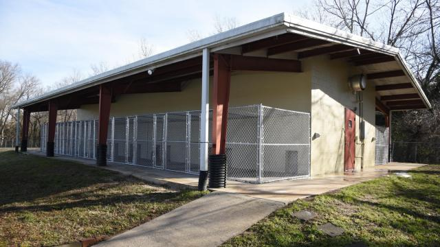 The Rocky Mount Police Department has opened a new animal shelter that will nearly double the city's capacity for housing homeless dogs and cats.