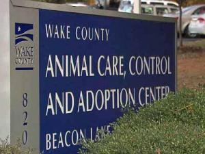 Wake County Animal Center sign
