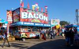 Food stand at the NC State Fair
