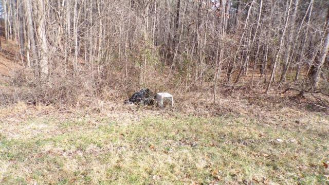 Officials in Vance County are investigating after two dogs were found dead in crates on the side of the road Wednesday. Credit: Ruin Creek Animal Protection Society of Henderson.
