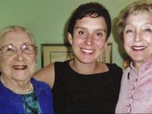 Doris Miller, Liz Wurster and Jean Wurster