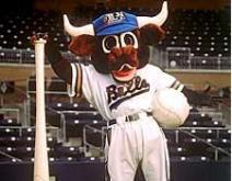 Wool E. Bull Durham Bulls mascot