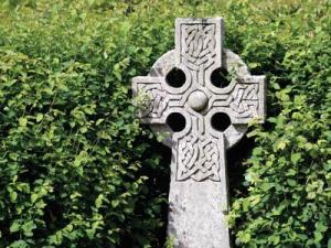 Celtic crosses can be found through Ireland.