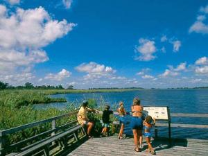 Back Bay National Wildlife Refuge features 7,700 aces of beach, woodlands and marsh, offering unique opportunities for wildlife viewing.