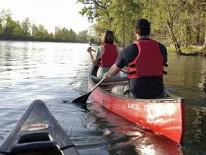 The Augusta Canal offers spectacular views, whether by canoe or tour boat.