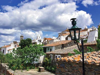 Quaint hamlets dot the Alentejo region of Portugal.