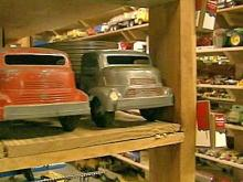 Toy Collector Has Garage Full of Fun