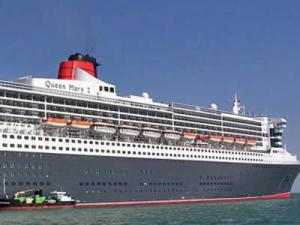 The Queen Mary 2 is the world's largest ocean liner.