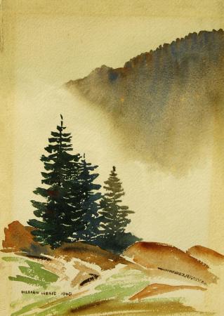 William Leslie Watercolor