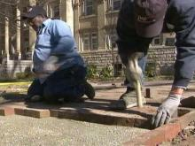 UNC Brick Masons Keep Campus Beautiful
