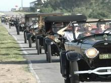 Horseless carriages head to the coast for annual gathering