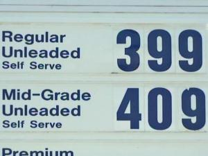 Gas prices in North Carolina inch closer to the $4-a-gallon mark on May 23, 2008.