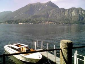Boats are the most popular mode of transportation in Italy's Lake District.