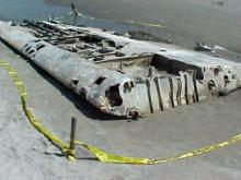Remnants of a spy plane unearthed along North Carolina's coastline
