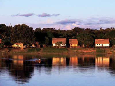 Villages along the Amazon River rely on the waterway for transportation, food and their way of life.