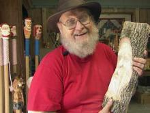 Avery County man carves a living out of wood