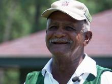 Man works as caddy for 65 years